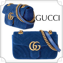 VERYたきまき着用アイテム☆GUCCI☆GGマーモント チェーンバッグ