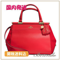 国内発送◆COACH Selena Gomez Grace Bag In Colorblock Mixed赤