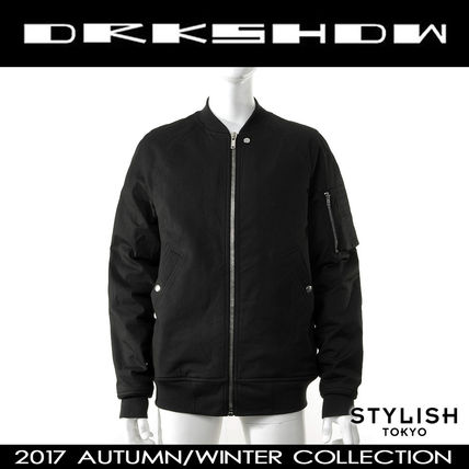 DRKSHDW by Rick Owens 17aw ブラック MA-1 フライトジャケット