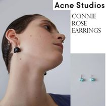 ACNE Connie Brass earrings ブラス製スモールローズピアス 2色