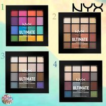 話題!NYX☆Ultimate Shadow Palette 16カラー入り 4種