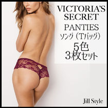 【Victoria's Secret】ソング(Tバッグ)5色3枚セット 国内発送