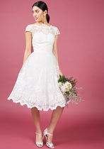 chi chi london exquisite elegance lace dress in white