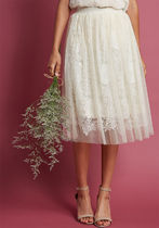 indulge in joy a-line skirt in ivory