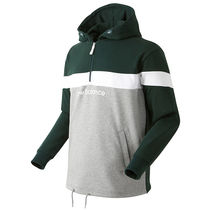 ☆New Balance☆UNI Half-zip up Hoodie - green