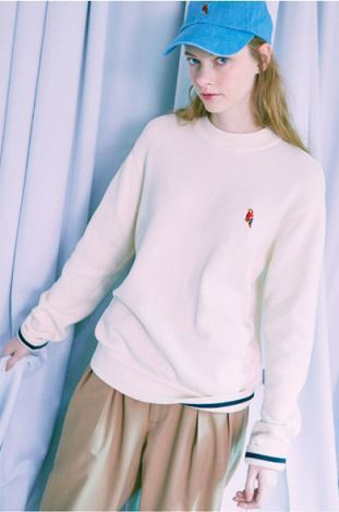 LIFUL(ライフル)のKANCO HALF NECK KNIT SWEATER 全2色