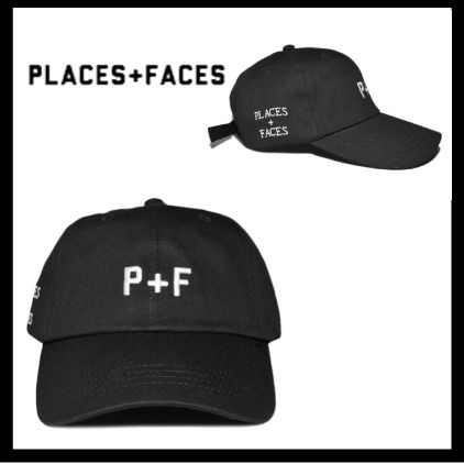 17SS【PLACES+FACES】 P+Fロゴキャップ【送関込】