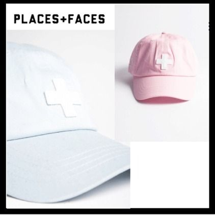 17SS【PLACES+FACES】ベーシックロゴキャップ【送関込】