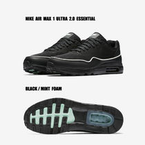 NIKE★AIR MAX 1 ULTRA 2.0 ESSENTIAL★BLACK/MINT FOAM