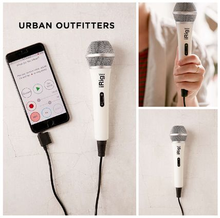 Urban Outfitters☆iRigカラオケマイク