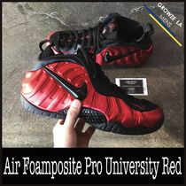 ★【NIKE】US8.5 26.5cm Air Foamposite Pro University Red