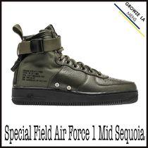 ★【NIKE】追跡有ナイキ Special Field Air Force 1 Mid Sequoia