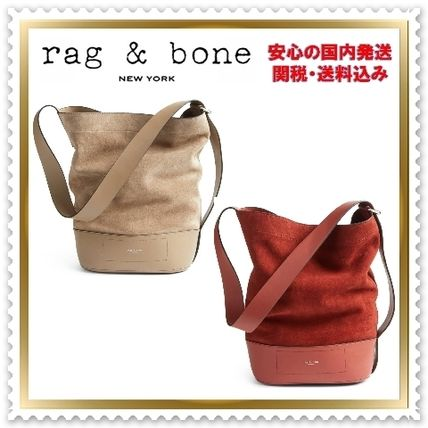 ◇ Rag & Bone ◇ Leather & Suede Bucket Bag 【関税送料込】
