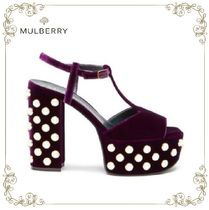 「MUSE9月号掲載」17AW★Mulberry★T-Bar Sandal