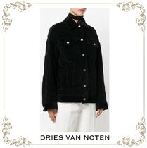 大注目★Dries Van Noten★oversized denim coat