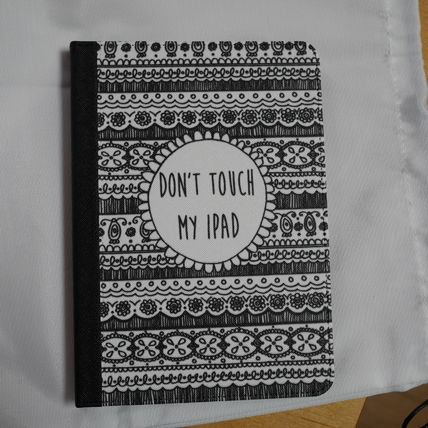 Casetify iPad・タブレットケース ★Casetify★iPadケース*DON'T TOUCH MY IPAD (BLACK LACE(3)