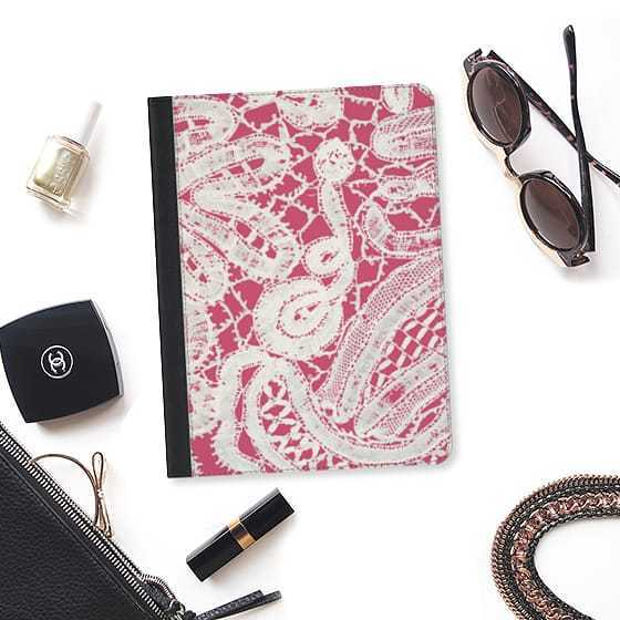 ★Casetify★iPadケース*MODERN ELEGANT ABSTRACT WHITE