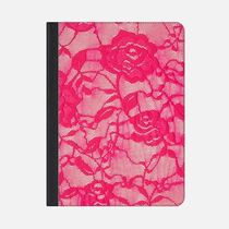 ★Casetify★iPadケース*HOT PINK ROSES FLOWERS LACE