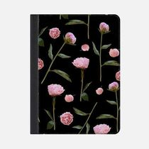 ★Casetify★iPadケース*PEONIES ON BLACK