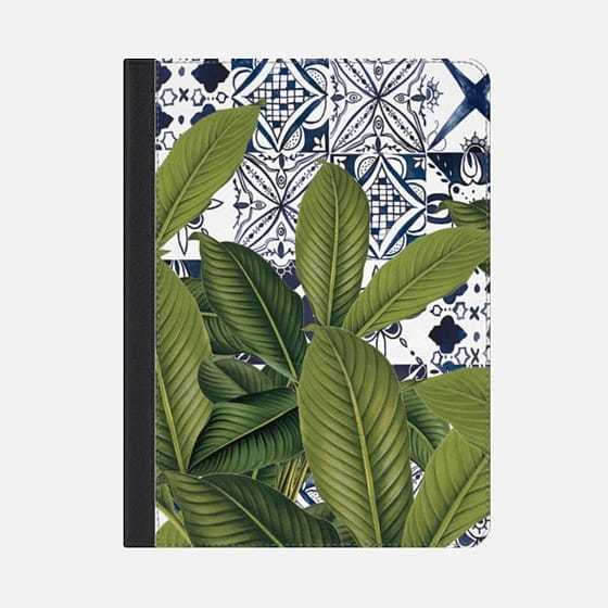 ★Casetify★iPadケース*FLORAL TROPICAL LEAVES ON MOROCCAN