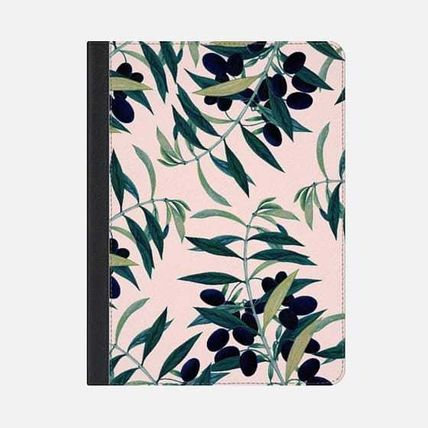 Casetify iPad・タブレットケース ★Casetify★iPadケース*OLIVE BRANCH PATTERN