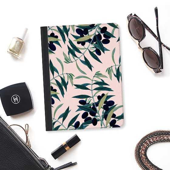 ★Casetify★iPadケース*OLIVE BRANCH PATTERN