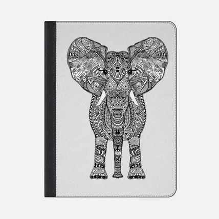 Casetify iPad・タブレットケース ★Casetify★iPadケース*AZTEC ELEPHANT BY MONIKA STRIGEL