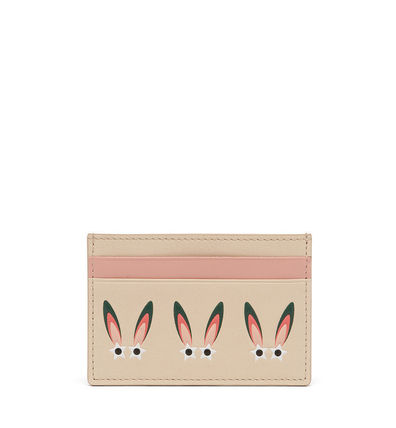 MCM/カードケース/STAR EYED BUNNY CARD CASE/BE/送料込