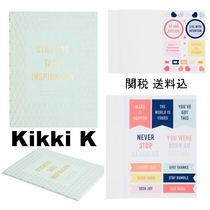 関送込 Kikki K☆DIY STICKER BOOK: INSPIRATION