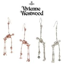ガイコツxオーブ◆Vivienne Westwood◆Skeleton Earrings