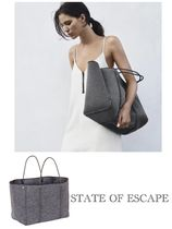 ☆State of Escape☆ESCAPE BAG IN LUXE CHARCOAL MARLE