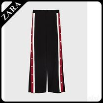 ★ZARA★ザラ  PYJAMA-STYLE TROUSERS WITH SIDE STRIPES