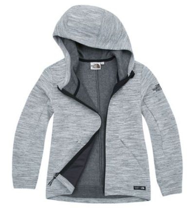 (ザノースフェイス) W'S TOBIN ZIP-UP JACKET GRAY NYJ5JH92