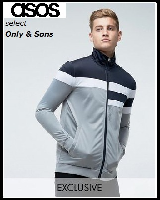 SALE【Only & Sons】☆トラックジャケット☆送料込