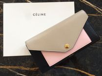 【CELINE】17/18AW新作 Pocket Trifolded 長財布 (Desert)