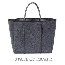 ☆State of Escape☆FLYING SOLO BAG IN CHARCOAL MARLE
