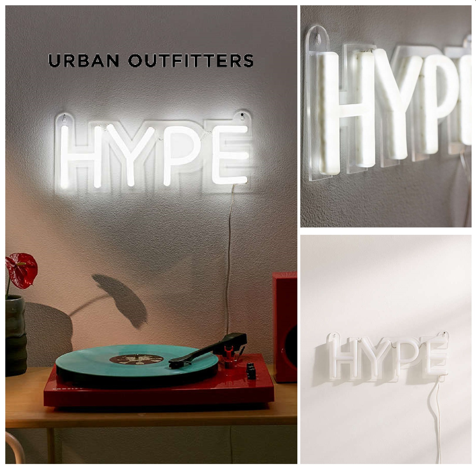Urban Outfitters☆Hype Neon Sign☆