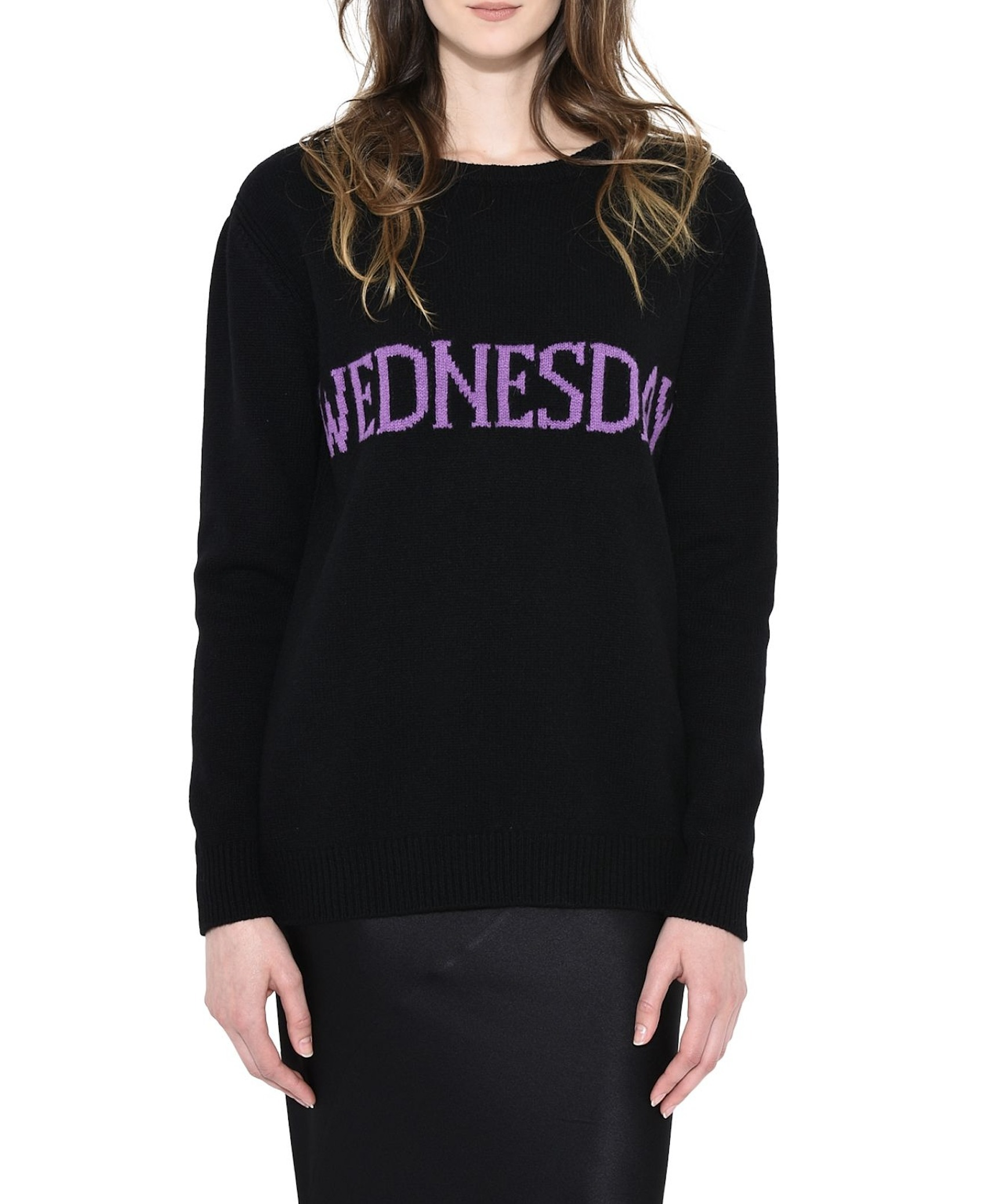 17-18AW AF043 THE RAINBOW WEEK CASHMERE BLEND SWEATER