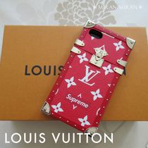 LOUIS VUITTON×Supreme 超希少★IPHONE7ケース★アイトランク