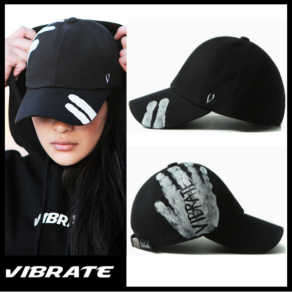 【VIBRATE バイブレート】VINTAGE HAND PAINT BALL CAP