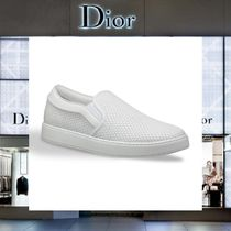 【17AW NEW】 Christian Dior_men /Wレザースリップオンシューズ