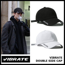 【VIBRATE バイブレート】BLACK LINE - DOUBLE SIDE CAP 2色