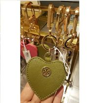 セール!Tory Burch★LEATHER HEART KEY FOB