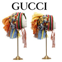 送関込★GUCCI★HAT WITH TASSEL MOHAWK