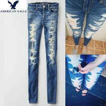 American Eagle Outfitters(アメリカンイーグル) デニム・ジーパン ☆American Eagle Outfitters☆9501 Cece super destroy jegging