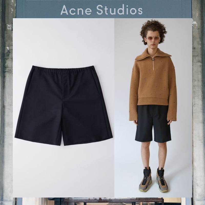 【17AW NEW】 Acne Studios_men / バミューダショーツ