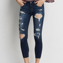 ☆American Eagle Outfitters☆Cese dfx jegging crop dark