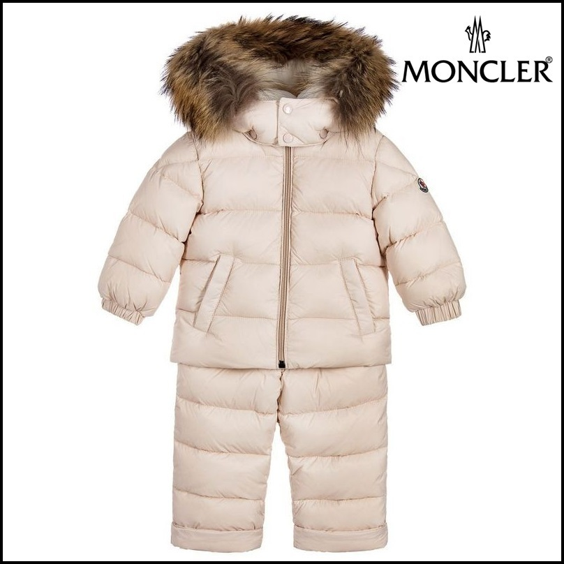 【MONCLER】 'New Mauger' Down Snowsuit Set