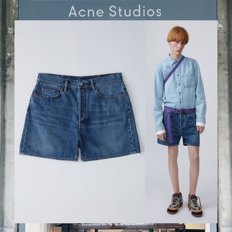 【17AW NEW】 Acne Studios_men / Canoe / デニムショーツ
