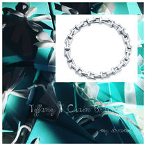 【Tiffany & Co】TIFFANY T CHAIN STERLING SILVER BRACELET